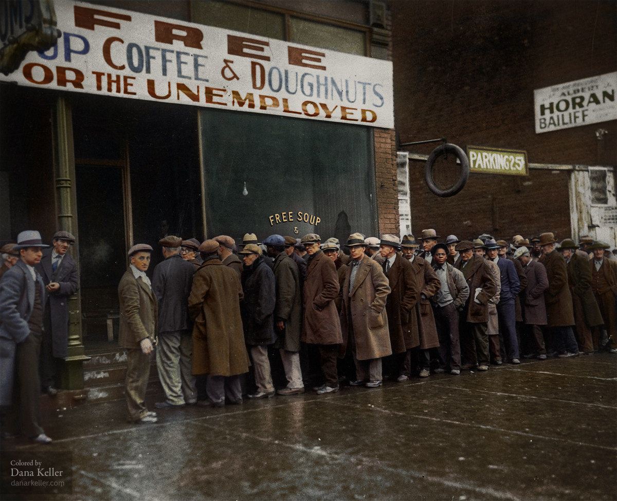 11 -  Al Capones Soup Kitchen during the depression