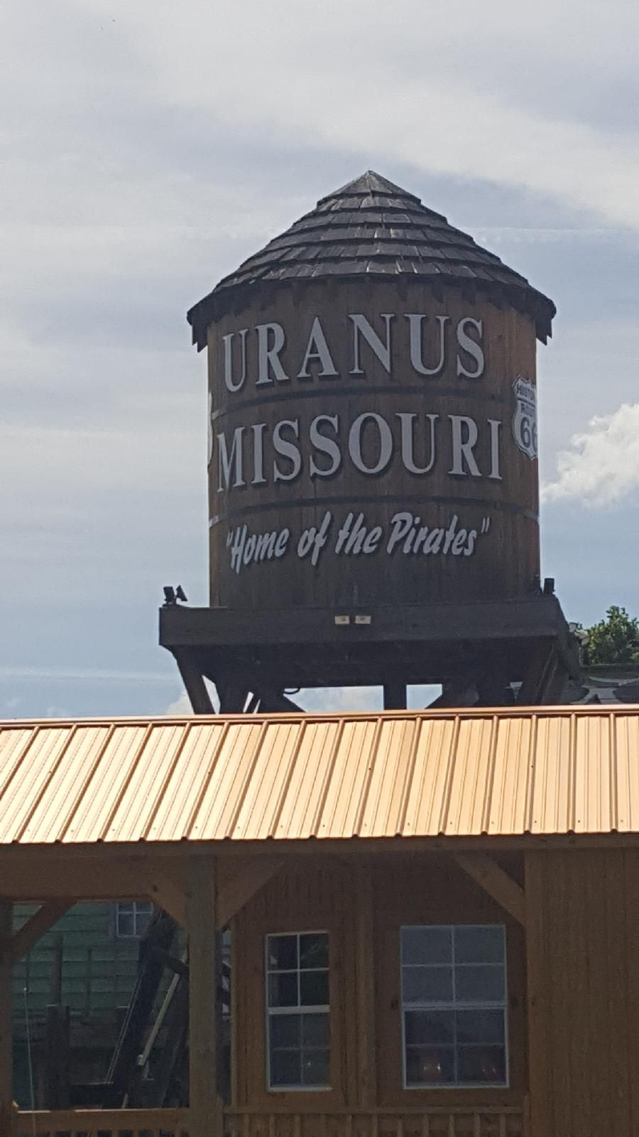 5 - Water tower of Uranus Missouri, try not to laugh.