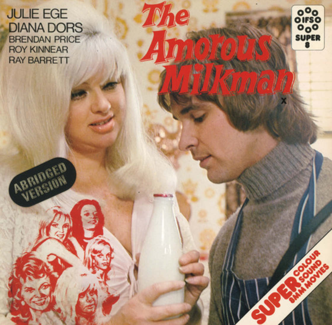 24 - The Amorous Milkman movie cover.