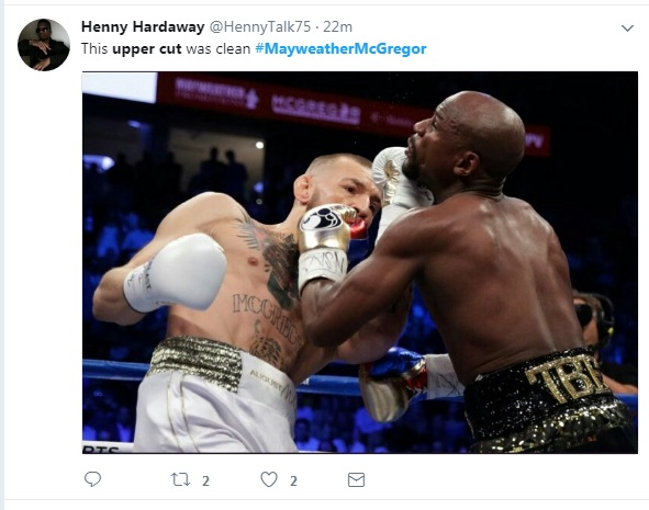 5 - SPOILER ALERT: Highlights and Tweets From The Mayweather/McGregor Fight