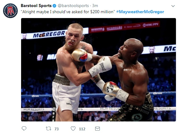 9 - SPOILER ALERT: Highlights and Tweets From The Mayweather/McGregor Fight