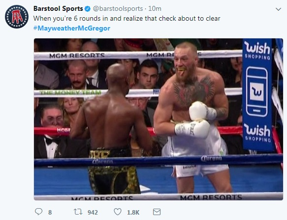12 - SPOILER ALERT: Highlights and Tweets From The Mayweather/McGregor Fight