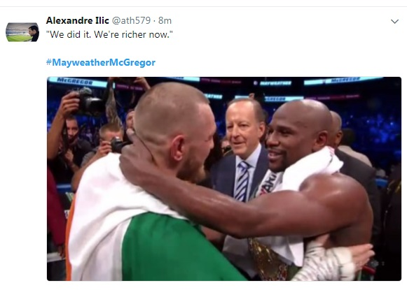 17 - SPOILER ALERT: Highlights and Tweets From The Mayweather/McGregor Fight