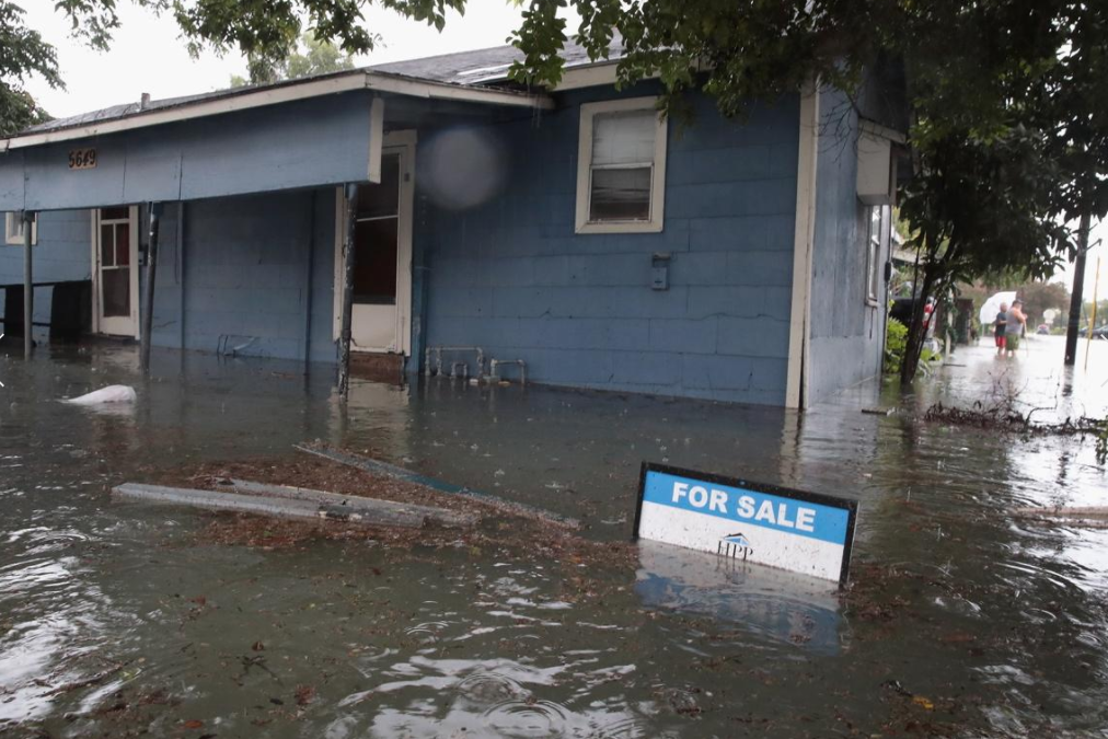 11 - House for sale flooded from Hurricane Harvey