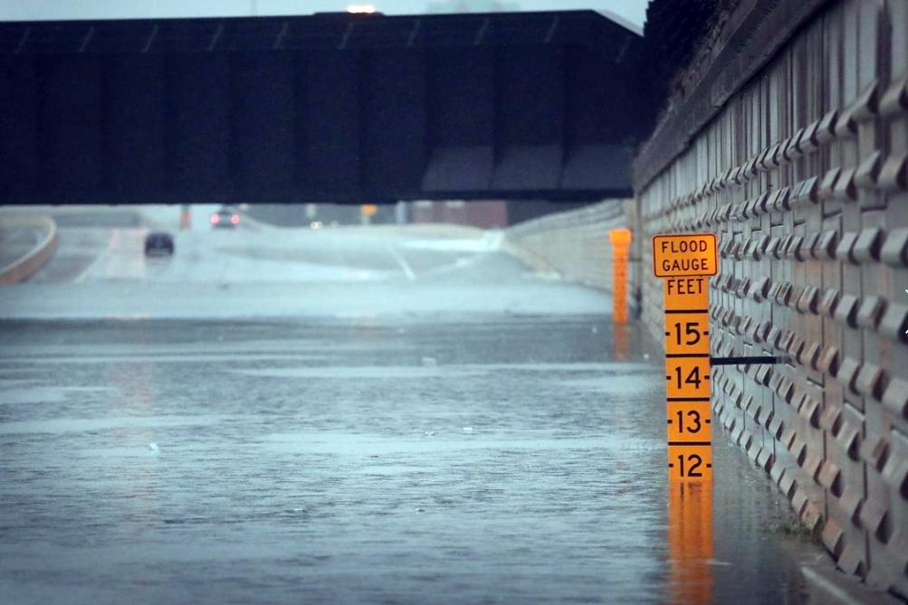 12 - Flood levels from Hurricane Harvey