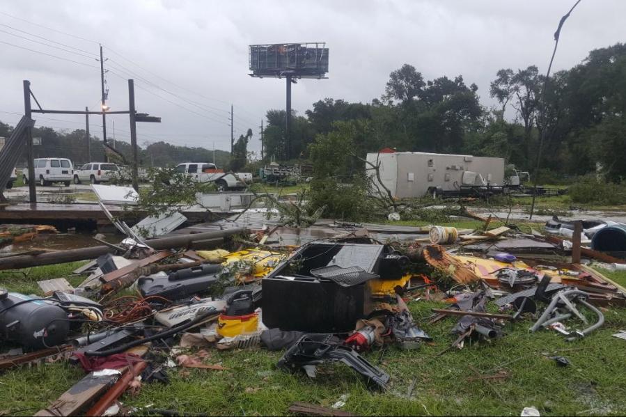 26 - Hurricane Harvey aftermath in af ield