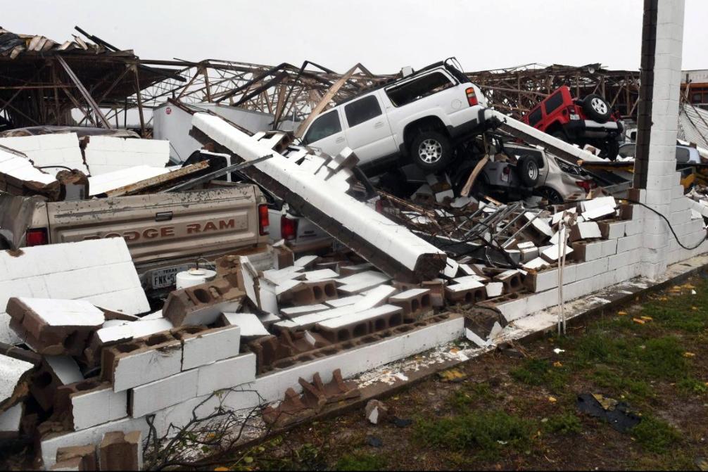 27 - Rubble and destruction after Hurricane Harvey