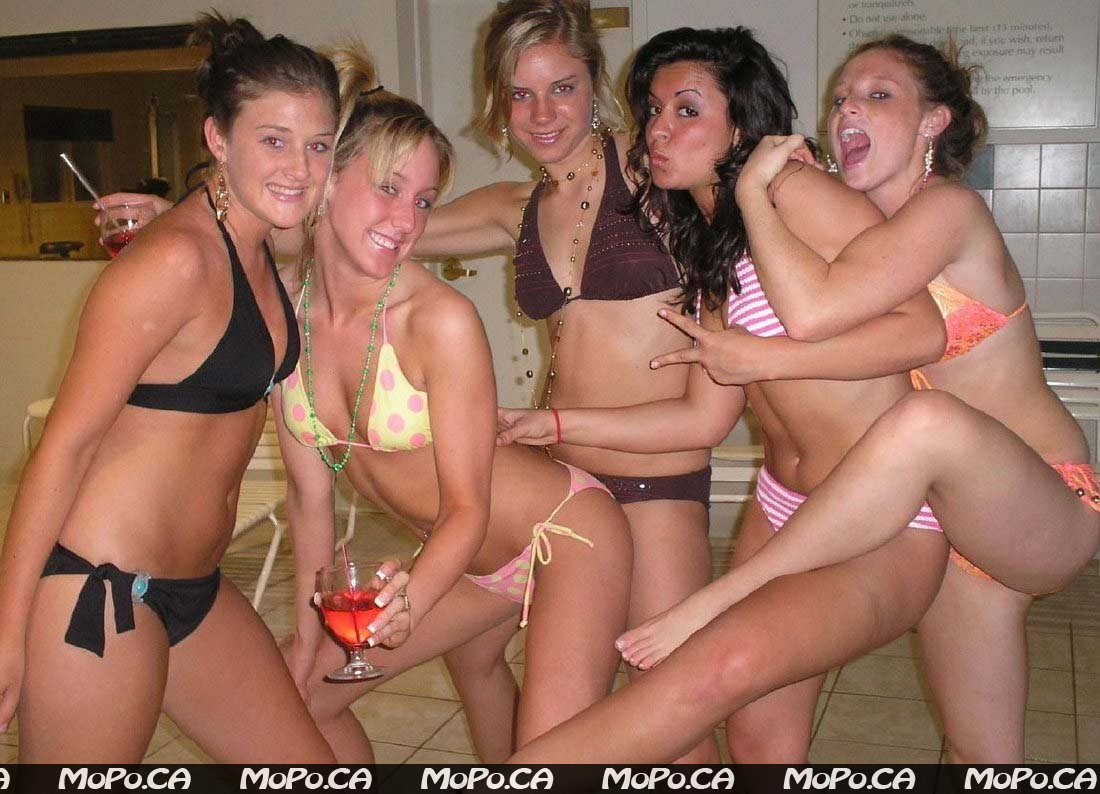 Girls party sexy slumber