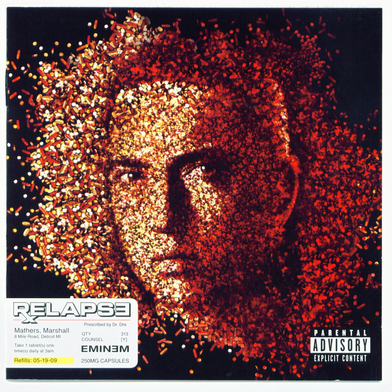 Eminem relapse cover f...