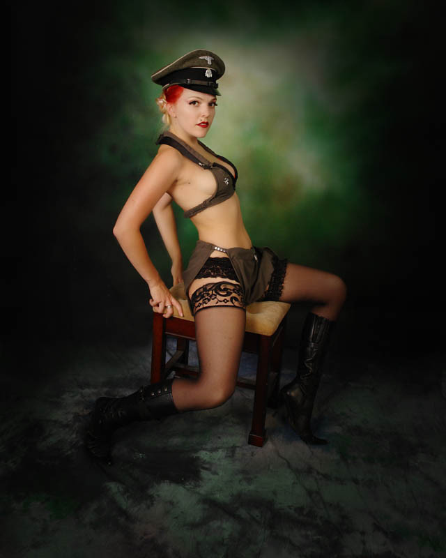 girls in nazi uniform porn