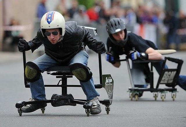 1 Office Chair Racing