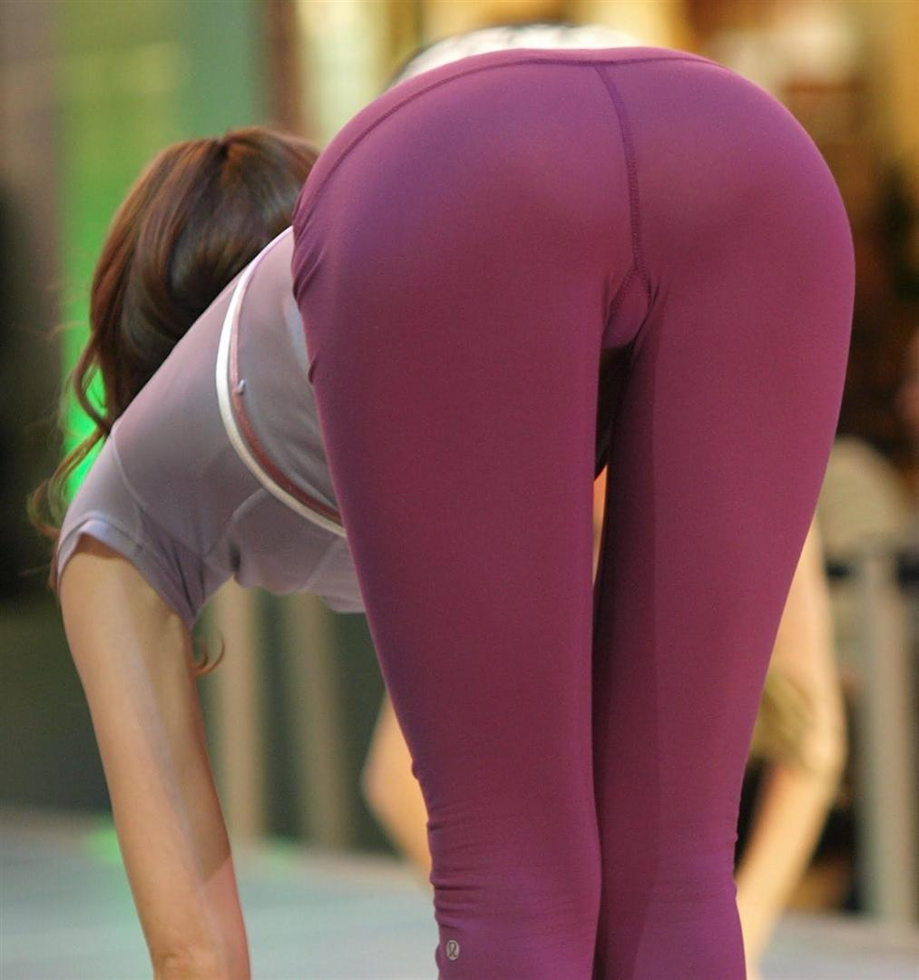 Asses In Yoga Pants