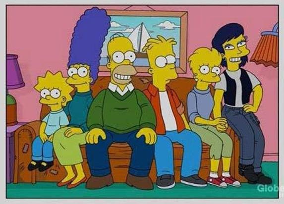 [Recomendado par Fans] Si los Simpson hubiesen envejecido