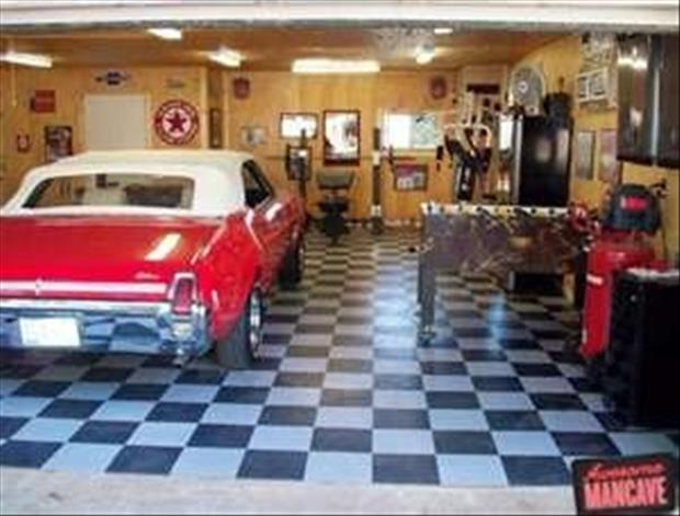 Man Cave Garage Addition : More additions to the man cave gallery ebaum s world