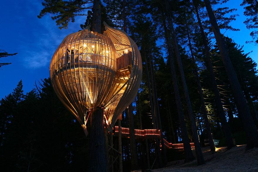 Contemporary Pete Nelson Treehouses Of The World For Design Inspiration