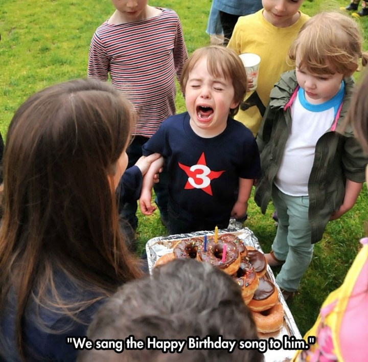 Birthday Party Games Are Hilarious For 8 9 10 11 And 12: 32 Stupid Reasons Kids Cry - Gallery