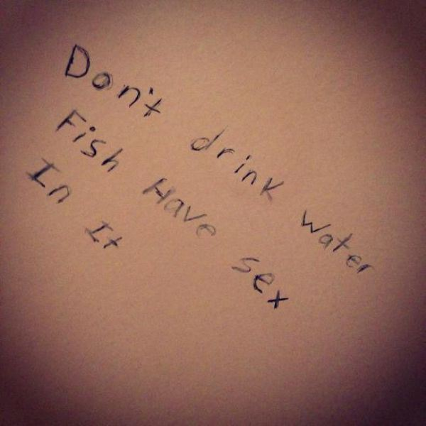 Best Bathroom Stall Quotes 31 perfect bits of bathroom graffiti - funny gallery | ebaum's world