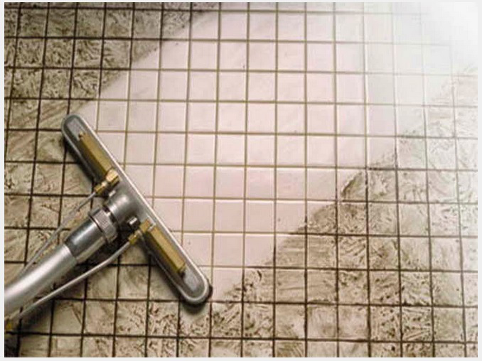 how to clean grout with baking soda and bleach