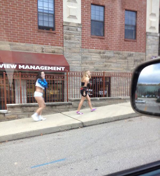 6 - 37 Party Girls Caught Taking The Walk of Shame