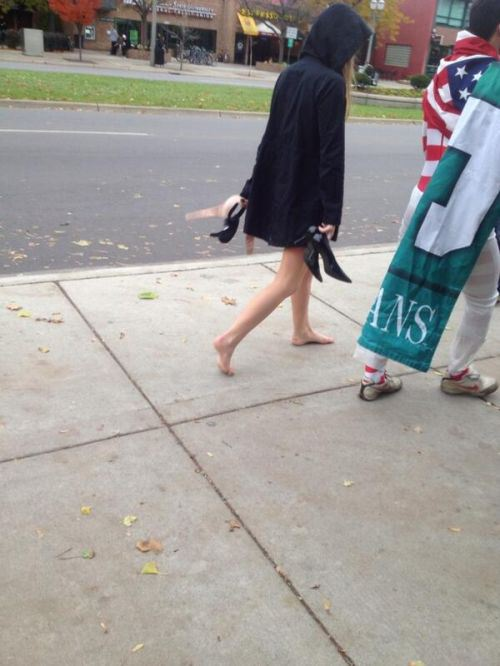 17 - 37 Party Girls Caught Taking The Walk of Shame