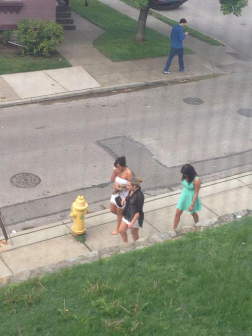18 - 37 Party Girls Caught Taking The Walk of Shame