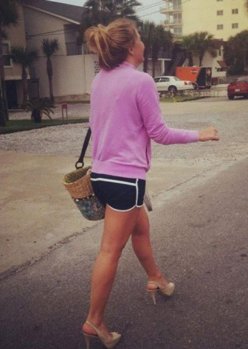 21 - 37 Party Girls Caught Taking The Walk of Shame
