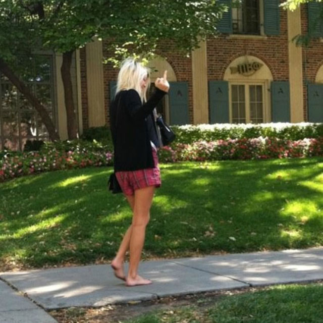 25 - 37 Party Girls Caught Taking The Walk of Shame