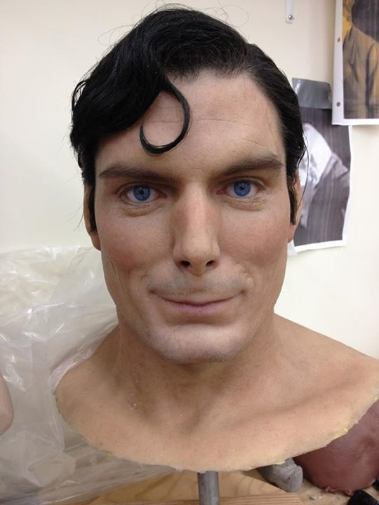 5 -  A Superman sculpture