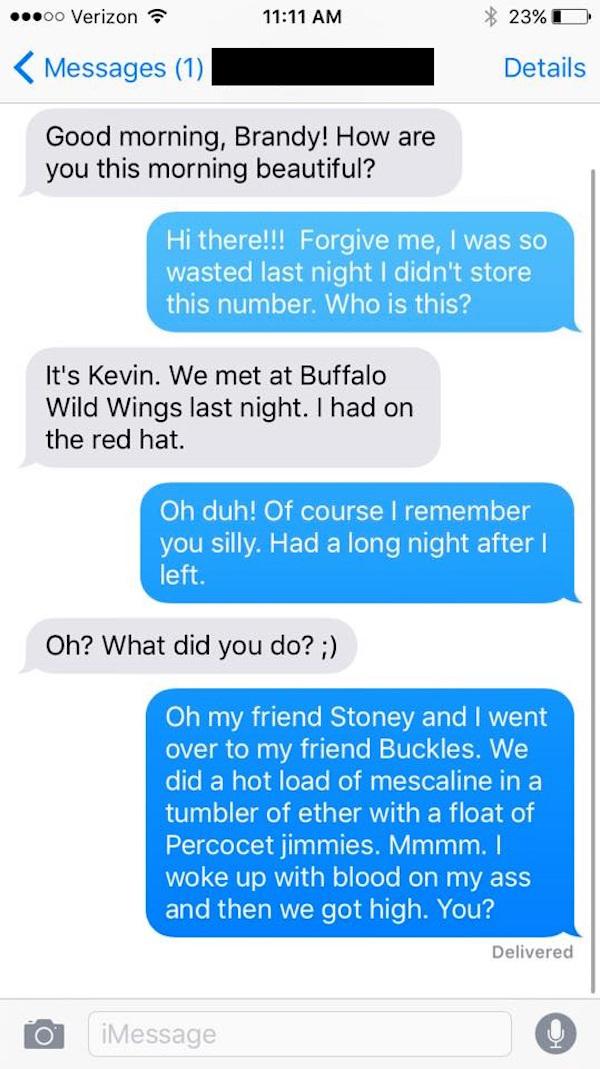 A Random How To Girl Text