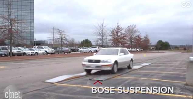 8 - Bose's electromagnetic car suspension system