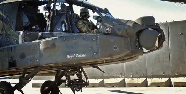 13 - The AH-64 Apache's gun-to-helmet tracking system