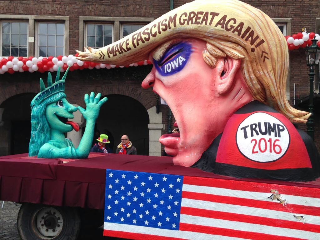 20 - Carnival float in Düsseldorf, Germany