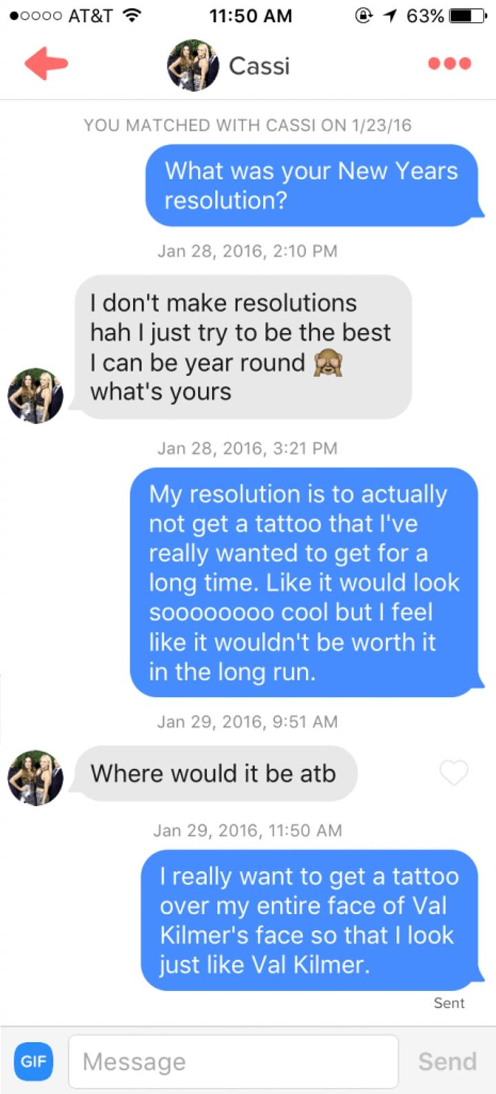 questions Funny tinder