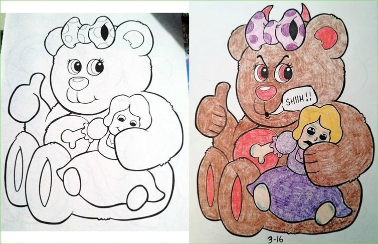 25 Childrens Coloring Books Not Safe For Kids