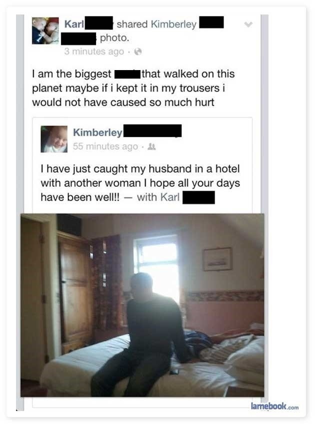 People Who Got Dumped On Facebook Gallery EBaums World - 24 facebook breakups that are so awkward it hurts
