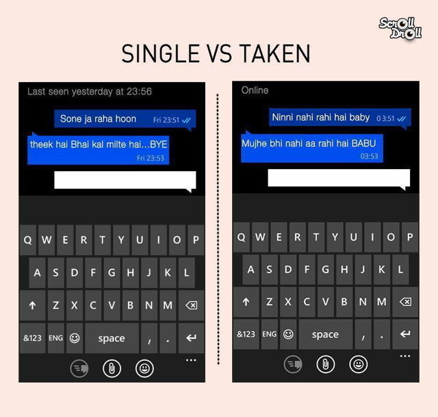 Dating vs vs being single adult world
