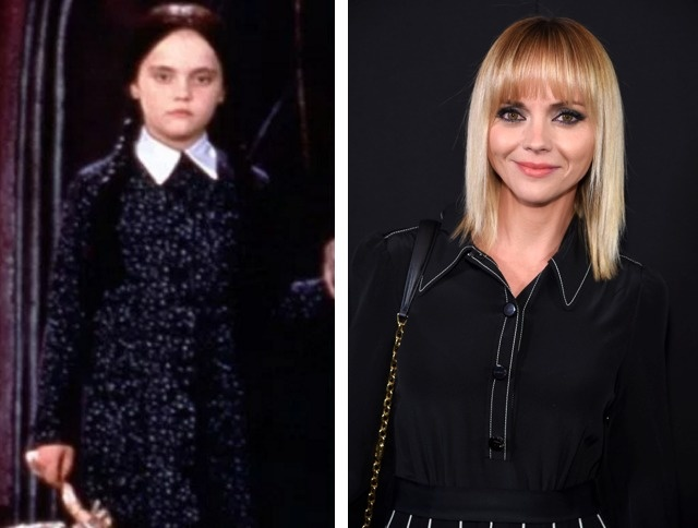 Wednesday Addams played by Christina Ricci.
