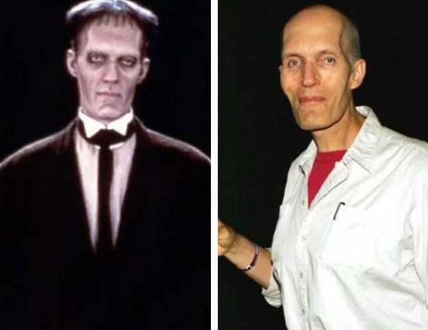 Lurch played by Christopher Lloyd.