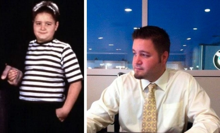 Pugsley Addams played by  Ariel Winter Workman.