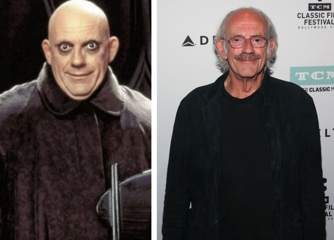Uncle Fester played by Christopher Lloyd.