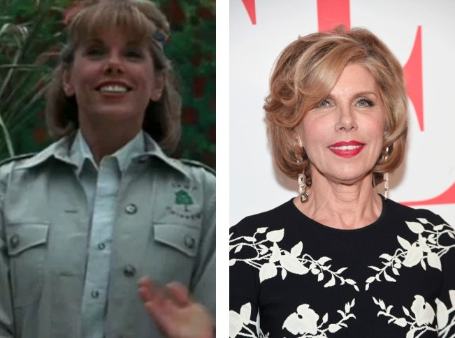 Becky Martin-Granger played by Christine Baranski.