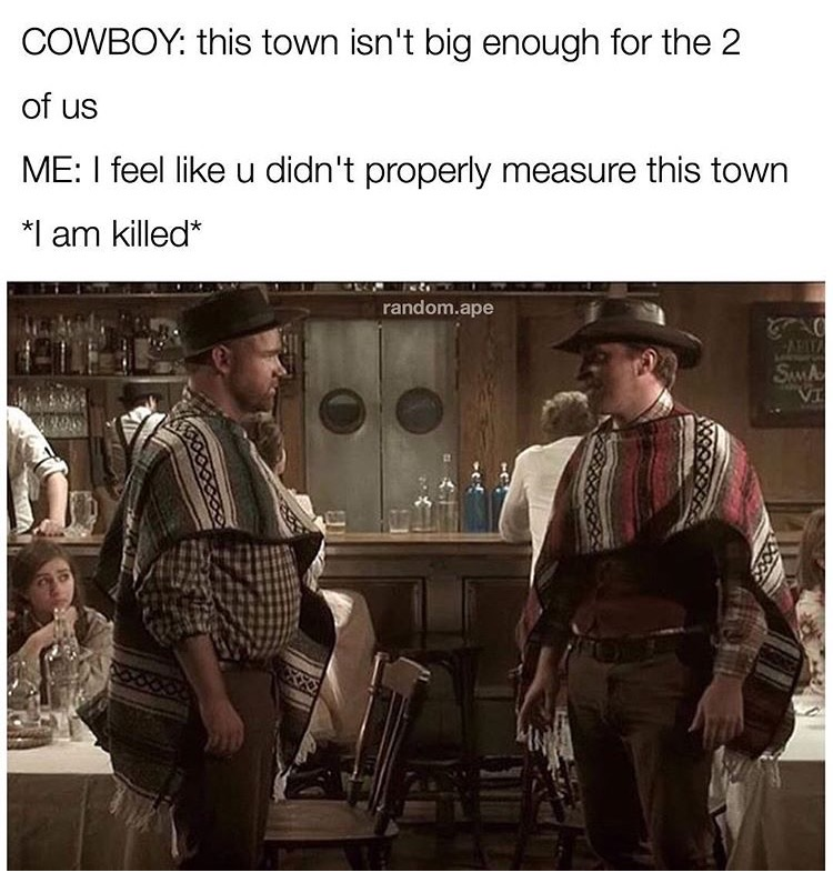 The 50 funniest memes of the week funny gallery ebaum 39 s world - Wild west funny ...