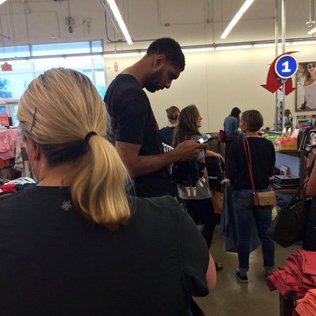 1 - Tim Duncan made $240 million in his career and he still shops at Old Navy