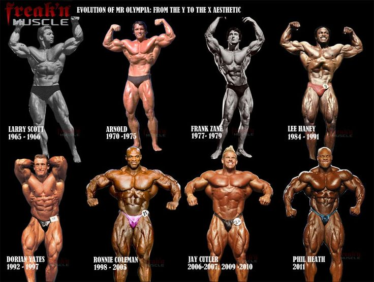 16 - The Evolution Of Bodybuilding