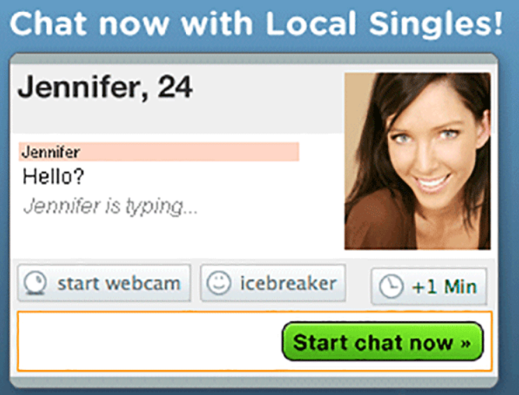 Chat with hot singles