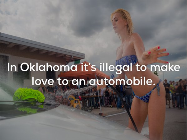 15 - 22 Ridiculous US state laws you just won't believe