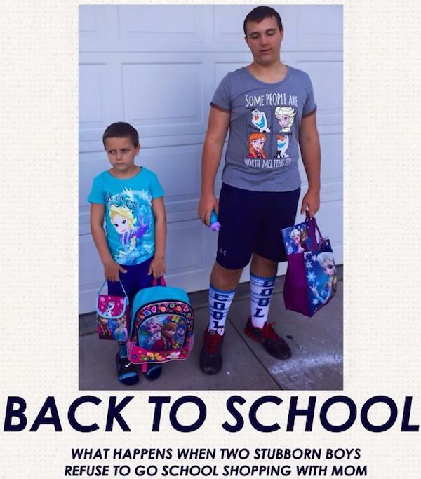 1 - 23 Parents Who Couldn't Wait For School To Start