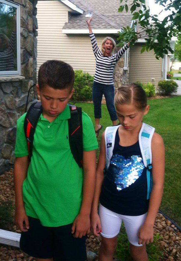 7 - 23 Parents Who Couldn't Wait For School To Start