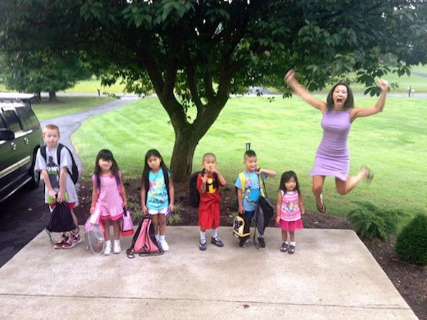 11 - 23 Parents Who Couldn't Wait For School To Start