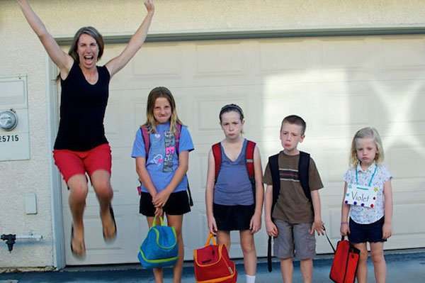 17 - 23 Parents Who Couldn't Wait For School To Start